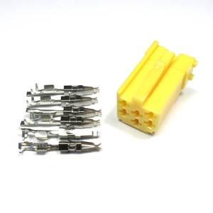 Bilde av Mini ISO-kontakt, gul